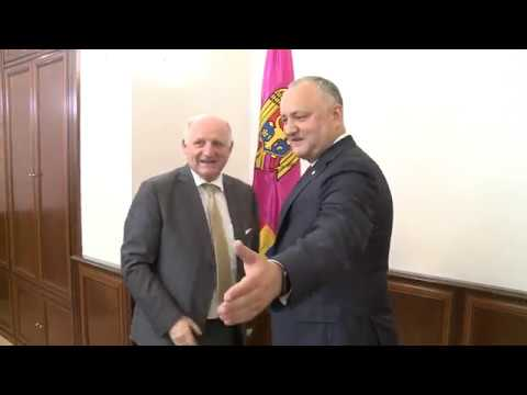 President of the Republic of Moldova had a working meeting with Belgian Ambassador