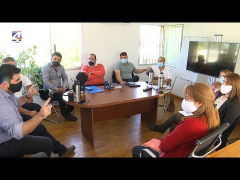 Nicolás Olivera se reunió con los alcaldes electos del departamento