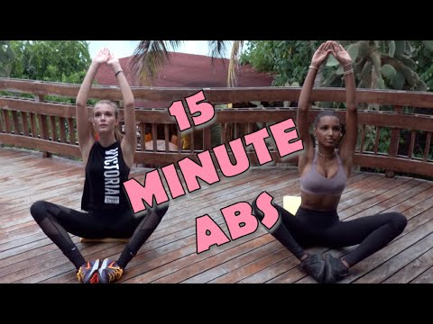 15 MINUTE ABS// MODEL WORKOUT