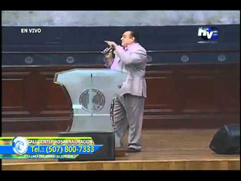 Jorge Raschke predica contra la apostasia en congregacion del Ap. Edwin Álvarez