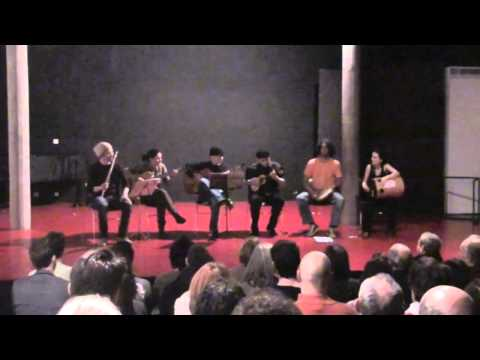 EclectiX1 - Grupo Choramingando (Barcelona) at International Chorinho Encontro 2011 hosted by Club du Choro de Paris 28-30/01/11.
