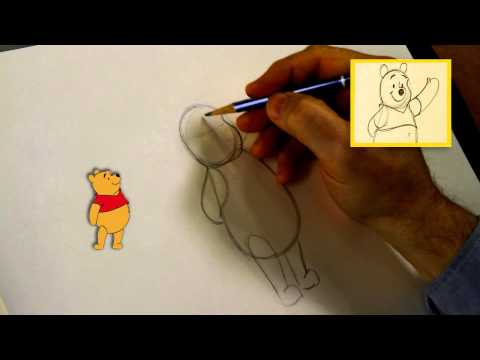 Winnie Puuh zeichnen leichtgemacht