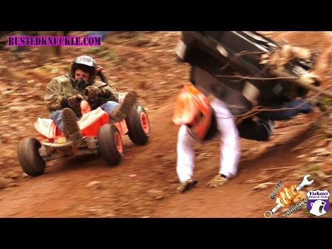 WATCH: Extreme Barbie Jeep Racing