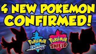 4 MORE NEW POKEMON ALREADY CONFIRMED! Pokemon Sword and Shield Leaks + Official Info! by Verlisify