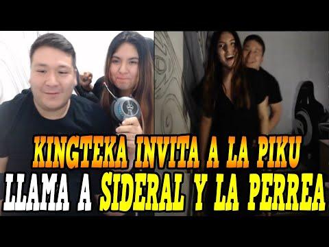 PICANTE!! KINGTEKA INVITA A LA PIKU Y LA PERREA EN PLENO STREAM