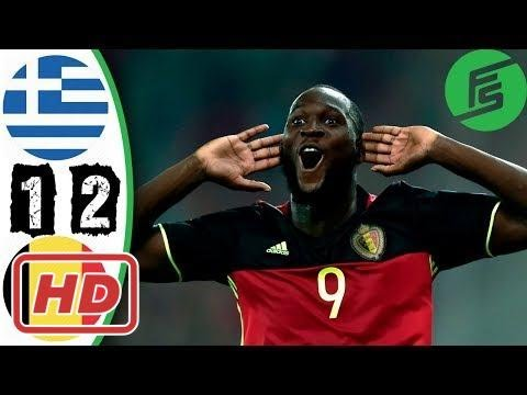 Greece vs Belgium 1-2 - Highlights & Goals - 03 September 2017[Petra Metzger]
