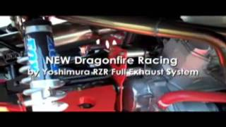 9. Polaris RZR Exhaust by Yoshimura Dragonfire 2PXYDES- Check this RZR Race Video by GearUp2go.com