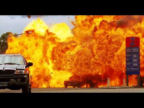The Best Movie Explosions: The Marine (2006) Gaspump Explosion