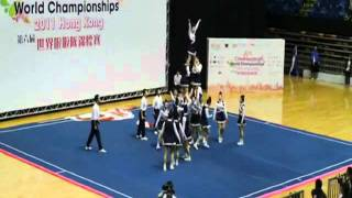 Japanese Cheerleading Team Doing Crazy Routine (Check Throw At 2:02) - YouTube