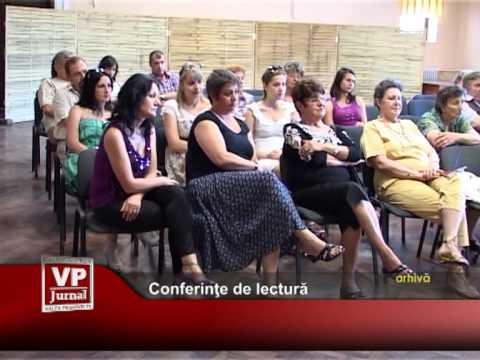 Conferinţe de lectură