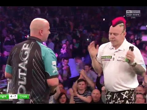 Premier League Darts: Peter Wright REFUSES To Shake Hands With Rob Cross After Defeat