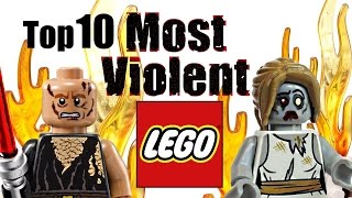 Top 10 Most Violent LEGO Sets!