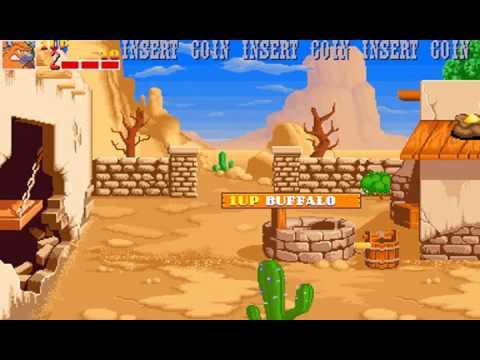 Wild West C.O.W. Boys of Moo Mesa ARCADE GAME