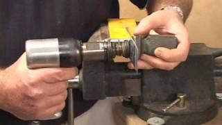 Aircraft Flush Riveting, RV Builder Basics - Youtube - SkywardMedia