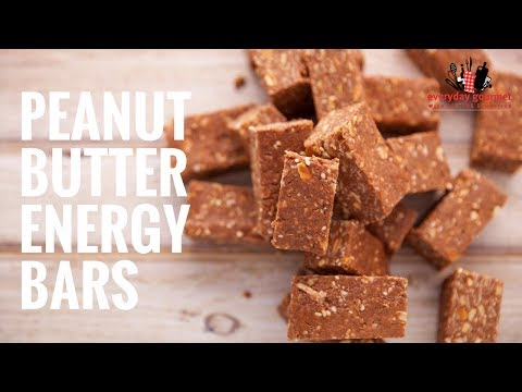 Cadbury Peanut Butter Energy Bars | Everyday Gourmet S6 EP40