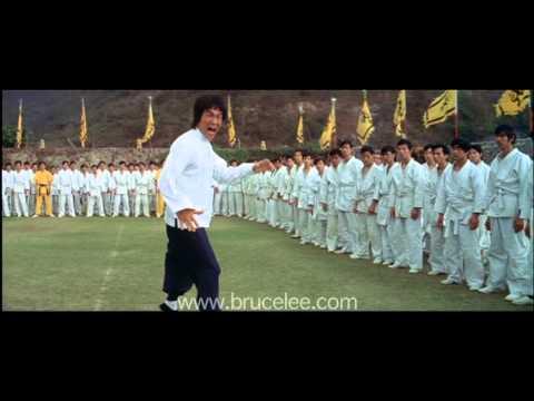 Bruce Lee 'Enter The Dragon' - Boards Don't Hit Back