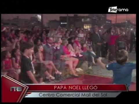 Papá Noel llegó Centro Comercial Mall del Sol