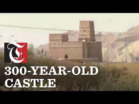 Mirjub Castle located in Al Buraimi governorate is 300 years old, made of mud and plaster and covers an area of 465sqm.
