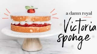 VICTORIA SPONGE ∙| baking with meghan |∙ BAKEMAS DAY 5 by Meghan Rienks