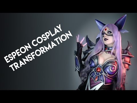Espeon Cosplay Transformation