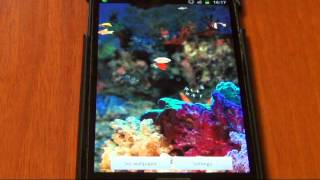 Nice Aquarium LWP YouTube video