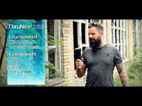 ThruNite TN35 (2750 Lumen) Taschenlampen Review
