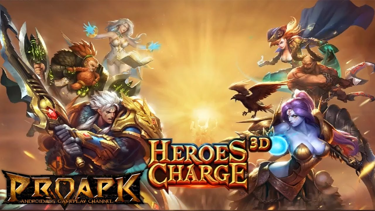 Heroes Charge 3D