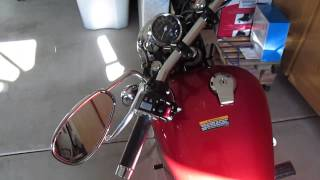 8. 2014 Yamaha V Star 250 Walk Around