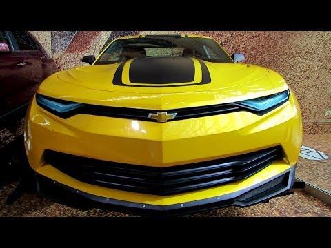 Camaro Prototype from Transformers 4 Movie-Exterior Walkaround-2014 NY