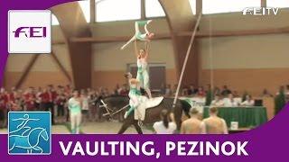 FEI European Junior Vaulting Championships 2012 - Pezinok - Junior Team