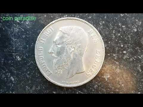 Value,Coin Worth Price Info: 5 FRANCS 1871 BELGIUM 동전  コイン