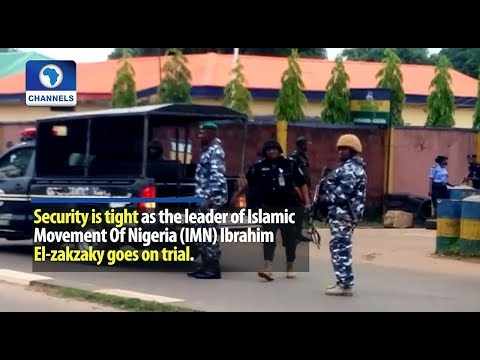 Security Tightened As El-Zakzaky Appears In Court