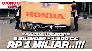 Video Unboxing Motor Rp 1 Miliar 6 Silinder Honda Gold Wing Tour DCT 2018 l First Impression l GridOto MP3, 3GP, MP4, WEBM, AVI, FLV Juni 2018