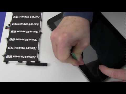 How to Replace Your Samsung Galaxy Tab 8.9 AT&T SGH-I957 Battery