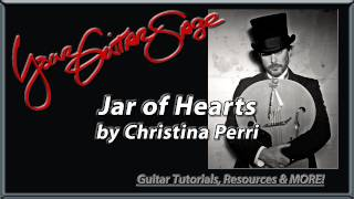 YGS - Jar of Hearts - Christina Perri - Beginner Acoustic Guitar Lesson