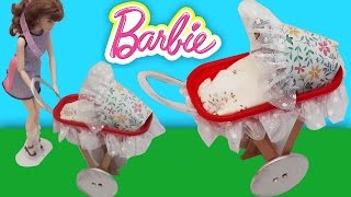 Video Barbie Bebek Arabası Yapımı | Oyuncak Butiğim MP3, 3GP, MP4, WEBM, AVI, FLV November 2017