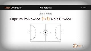 Cuprum Polkowice - Nbit Gliwice (8 kolejka) - skrót