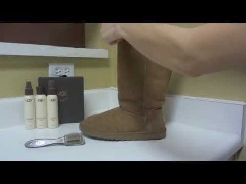 how to care ugg boots