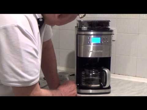 The Andrew James Premium Coffee Maker with Integrated Grinder – Review
