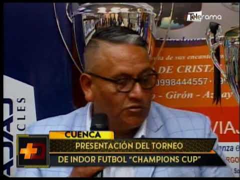 Presentación del torneo de Indor fútbol Champions Cup