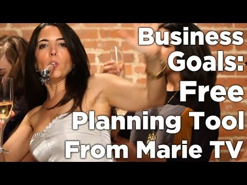 Business Goals – Free Planning Tool!
