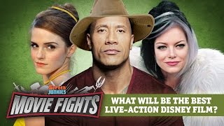 What will be the best Live Action Disney Film? - MOVIE FIGHTS! by Screen Junkies
