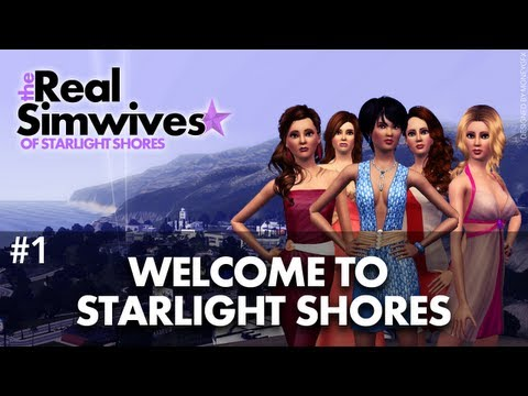 shores - Introducing Kyra, Jennifer, Britney, Maria & Eva. The Real Simwives of Starlight Shores Season 1 - Episode 1