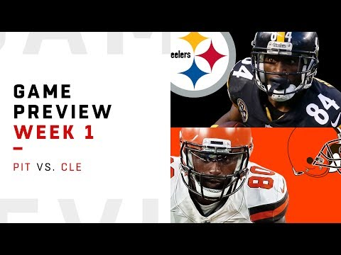 Pittsburgh Steelers vs. Cleveland Browns | Week 1 Game Preview | Move the Sticks