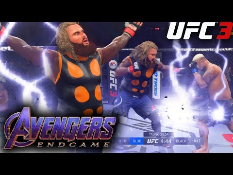 Ea Ufc 3: Avengers Endgame Fat Thor Aims For The Head! Online Knockouts!