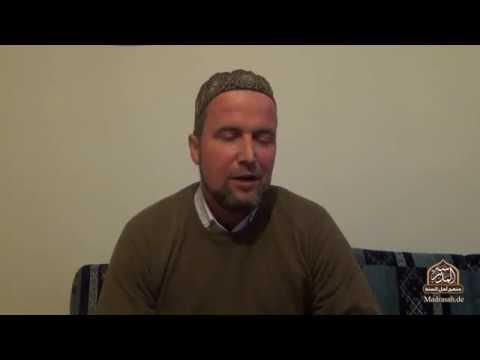Bidāyatul Hidāya 4.1 | Adab beim Aufbrechen zur Moschee | Ustadh Mahmud Kellner