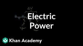 Electric power | Circuits | Physics | Khan Academy