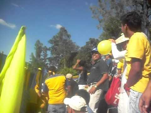 La ola en el SIMEON MAGAÑA partido entre el Once Municipal vrs Fas - La Fiel Amarilla - Once Municipal