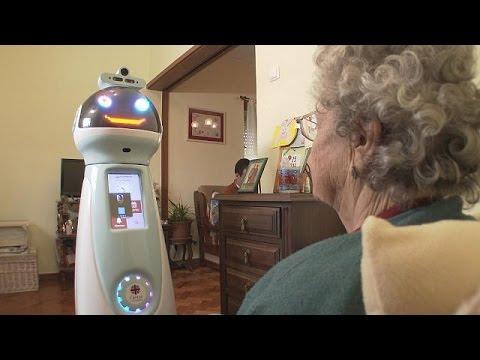 Ρομπότ στην υπηρεσία μοναχικών ηλικιωμένων – futuris