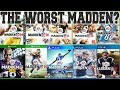 Looking Back At the Worst Madden EVER